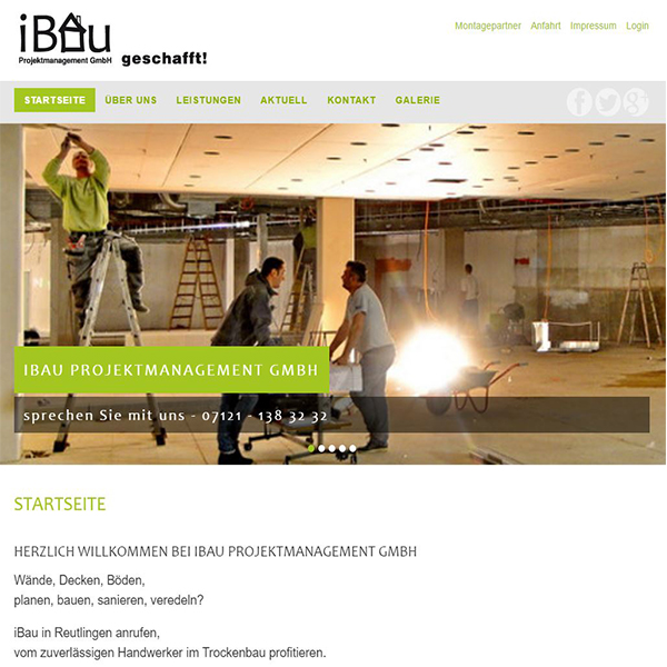IBau-Projektmanagement